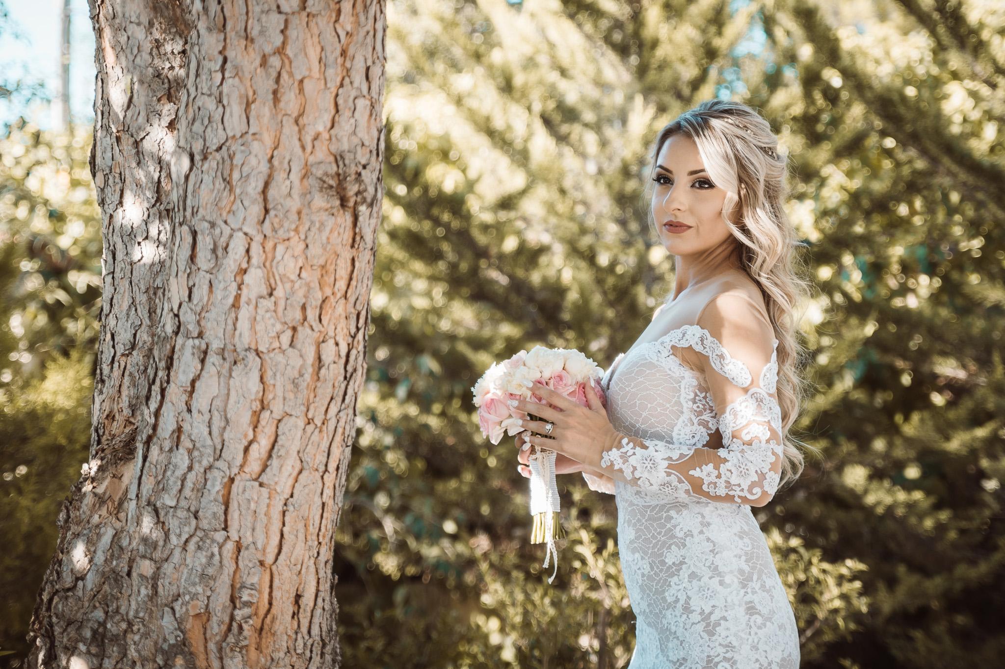 πορτραίτο νύφης φωτογράφιση γάμου