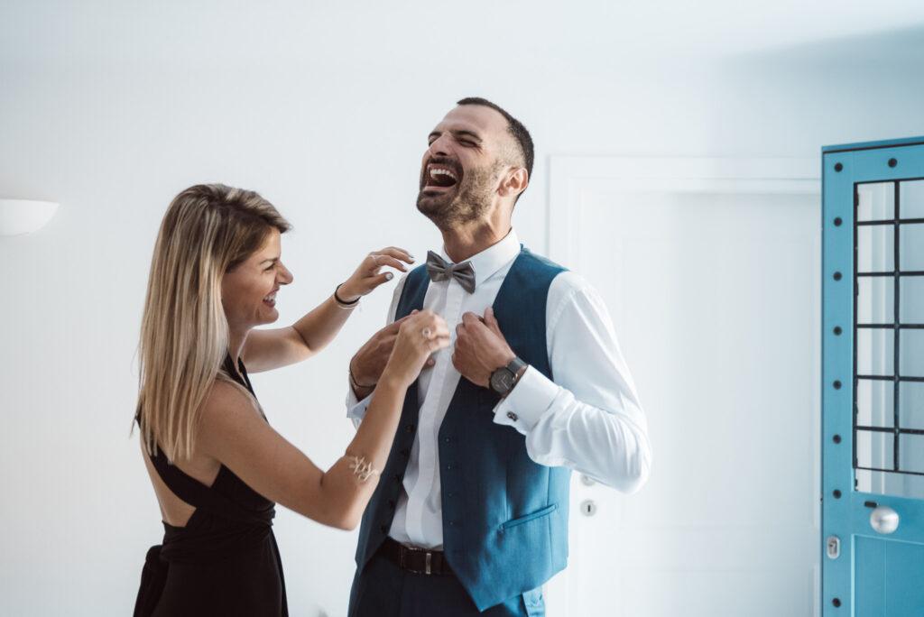 προετοιμασία γαμπρού στην Άνδρο