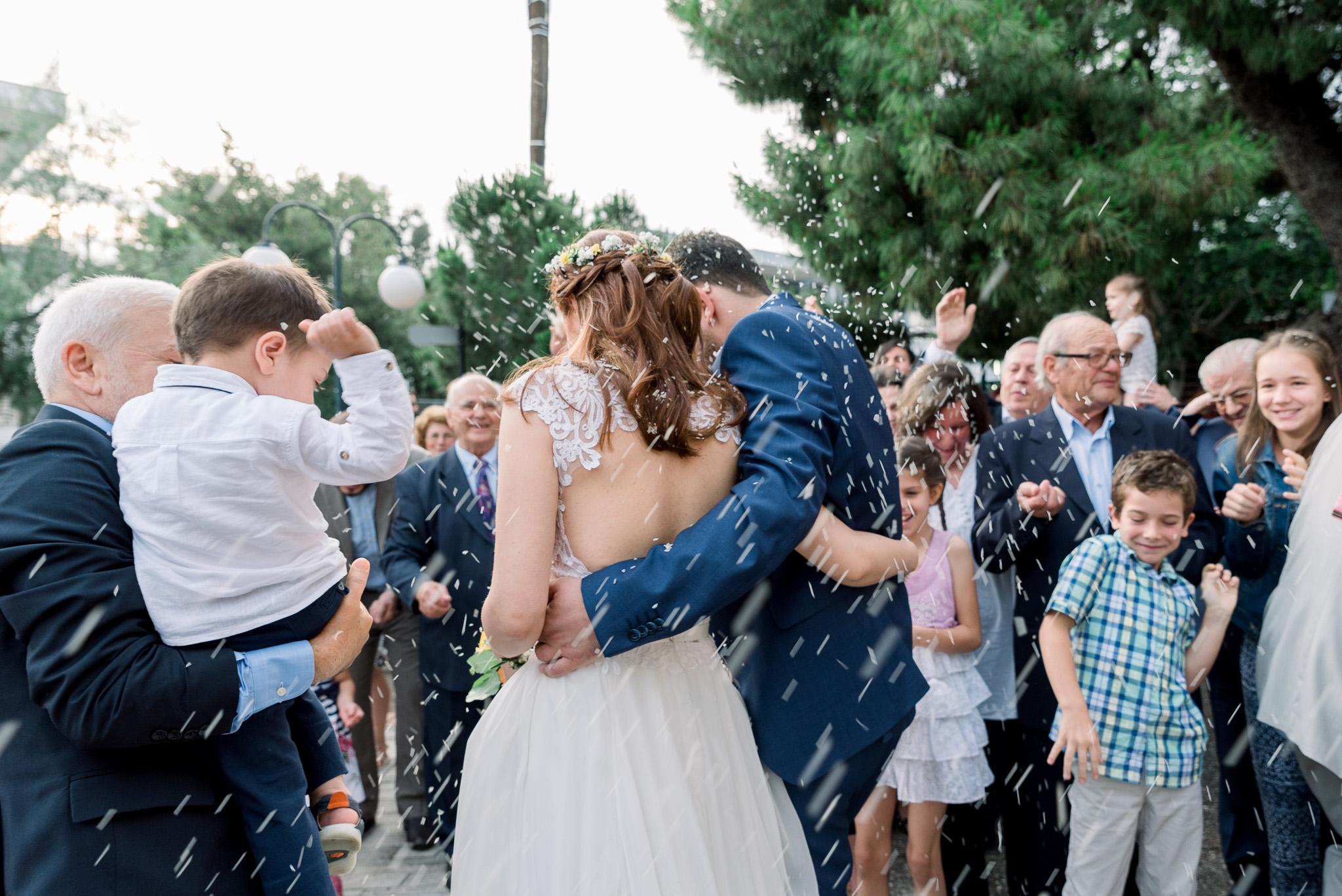 γάμος στα μελισσία