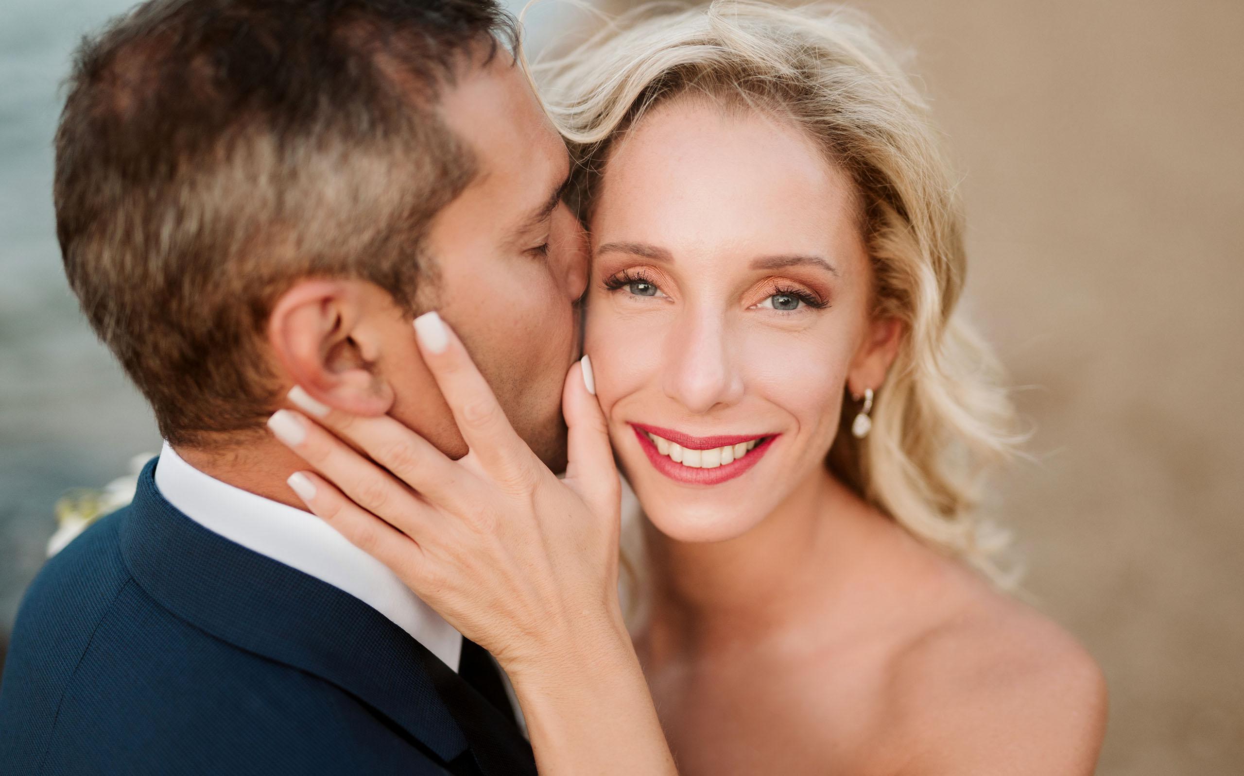 οργάνωση γάμου ζευγάρι γαμπρός και νύφη