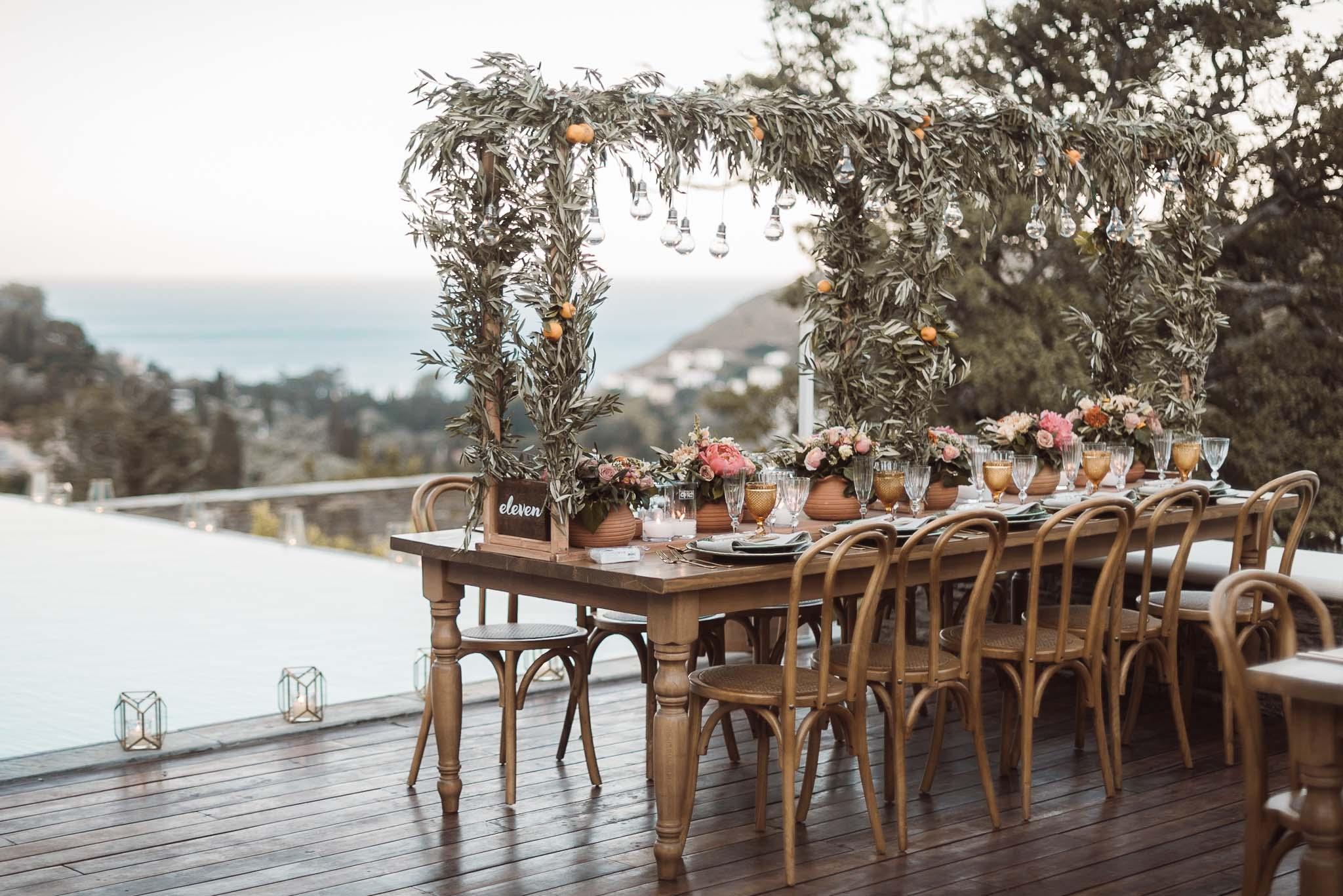 φωτογράφιση γάμου στην Άνδρο - γαμοσ με λιγα ατομα